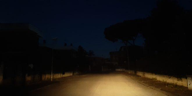 Lido al buio