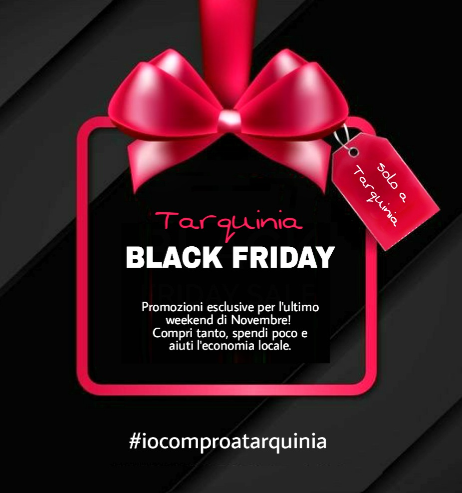 Io compro a Tarquinia Black Friday